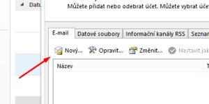 Nový mailbox